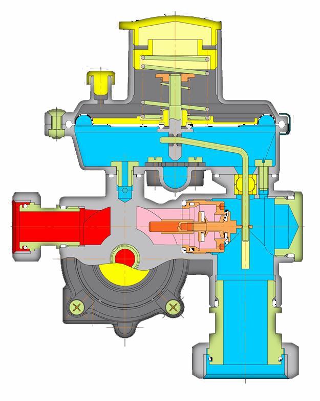 Регуляторы давления газа серии «Venio-А»
